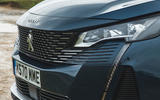 Peugeot 5008 2020 UK First Drive review - nose