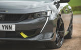 4 Peugeot 508 PSE 2021 UK first drive review headlights