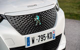 Peugeot e-2008 2020 first drive review - front grille