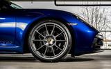 Porsche 718 Boxster GTS 4.0 PDK 2020 UK first drive review - alloy wheels
