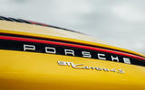 Porsche 911 Carrera 4S 2019 UK first drive review - rear light bar