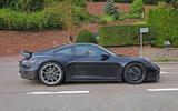 2020 Porsche 911 GT3 speckled contrast side right