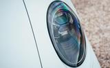 Porsche 911 Targa 2020 UK first drive review - headlights
