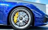 Porsche 911 Turbo S Cabriolet 2020 UK first drive review - alloy wheels