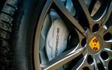 Porsche Cayenne 2018 UK first drive review brake calipers