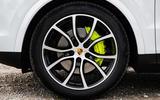 Porsche Cayenne E-Hybrid 2018 review alloy wheels