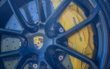 Porsche Cayenne GTS 2020 UK first drive review - brake calipers