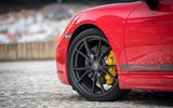 Porsche Cayman T 2019 first drive review - alloy wheels