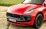 4 Porsche Macan GTS 2021 UK LHD first drive nose