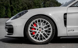 Porsche Panamera GTS Sport Turismo 2020 first drive review - alloy wheels