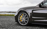 Porsche Panamera Turbo S Sport Turismo 2020 first drive review - steering wheel