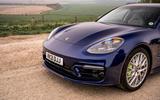 4 Porsche Panamera Turbo S E Hybrid ST 2021 UK FD nose