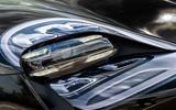 Porsche Taycan 2020 first drive review - headlights