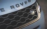 Range Rover Evoque 2019 first drive review - bonnet badge