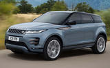 Range Rover Evoque 2019 official reveal - onroad front