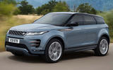 Range Rover Evoque 2019 official reveal on-road