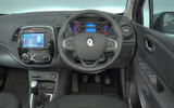 Renault Captur Iconic TCe 90 2018 UK first drive - dashboard