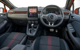 Renault Clio E-Tech hybrid 2020 UK first drive review - dashboard
