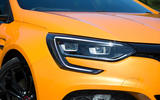 Renault Megane RS 2018 UK first drive headlights