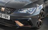 Seat Leon Cupra R ST Abt 2019 UK first drive review - headlights