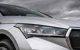 4 Skoda Enyaq 2021 UK FD headlights
