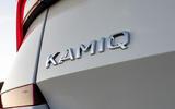 Skoda Kamiq 2019 UK first drive review - rear badge