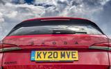 4 Skoda Kamiq Monte Carlo 2021 UK first drive rear end