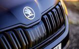 4 Skoda Kodiaq Sportline 2021 UK first drive nose