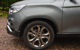 Ssangyong Rexton longterm review front wheels