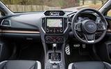 Subaru XV e-Boxer 2020 UK first drive review - dashboard