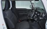 Suzuki Jimny 2018 UK first drive review - cabin