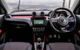 Suzuki Swift Sport 2018 review interior