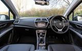 Suzuki SX4 S-Cross Hybrid 2020 UK first drive review - cabin