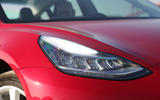 Tesla Model 3 2018 review headlights