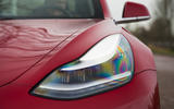 Tesla Model 3 Performance 2019 first drive review - headlights