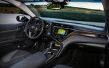 Toyota Camry 2019 first drive review dashboard