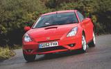 Toyota Celica - hero front