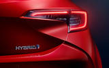 Toyota Corolla 2018 prototype first drive - rear lights