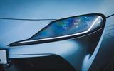 4 Toyota GR Supra 2 litre 2021 UK first drive review headlights