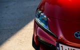 Toyota GR Supra 2019 first drive review - headlights