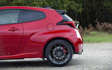 Toyota GR Yaris 2020 UK first drive review - rear arches
