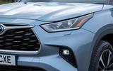 4 Toyota Highlander 2021 UK first drive review headlights