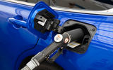 Toyota Mirai 2021 prototype drive - hydrogen fill
