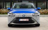 Toyota Mirai 2021 prototype drive - nose