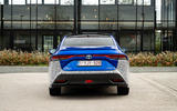 Toyota Mirai 2021 prototype drive - rear end