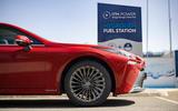 4 Toyota Mirai 2021 UK FD alloy wheels