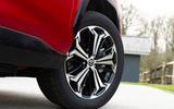 4 Toyota RAV4 PHEV 2021 UK first drive review alloy wheels