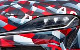 Toyota Supra prototype lights