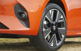 Vauxhall Corsa-e 2020 UK first drive review - alloy wheels