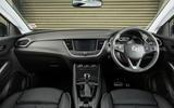 Vauxhall Grandland X 1.5 Turbo D 2018 first drive review - dashboard